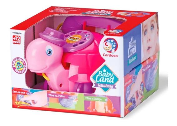 Brinquedo Educativo Teltaluga Rosa E Roxo 3007 - Cardoso
