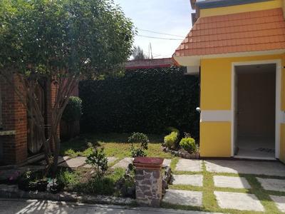 Renta Casa Con Amplio Jardín En Bosques Del Peñar Pachuca