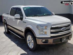 Ford Lobo Lariat 4x4 Blanca 2015