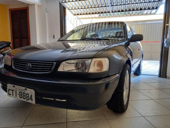 Toyota Corolla 1.8 Ano 2000 Preto