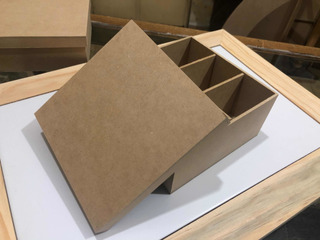 Caja De Madera ( Mdf) Para Te Sencilla