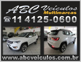Jeep Compass Limited 2.0 Flex - Automático 2017/2018 - 1031