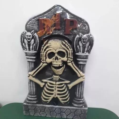Combo Halloween Lapida/calabazas/telarañas Chirimbolos