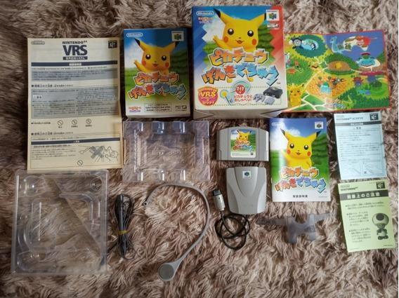 Hey You Pikachu Japonês Completo Nintendo 64