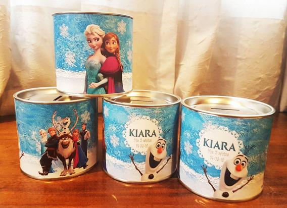 Alcancías Personalizadas Souvenirs - Frozen (25 Unid)