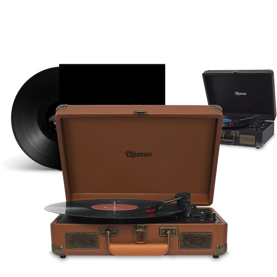 Maleta Retro Vintage Bluetooth Usb Classico Toca Disco