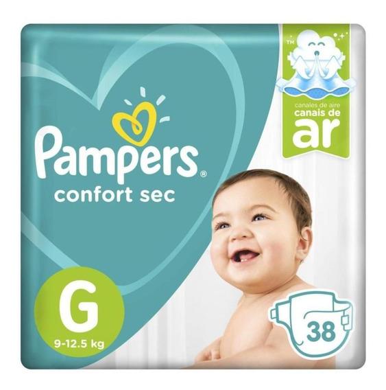 Fralda Pampers Confort Sec Mega - G 38 Tiras