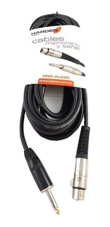 Extencion Profesional Audio Plug Canon A 6.3mm 7 M Cph-32
