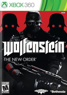 Wolfenstein The New Order Xbox 360 Fisico Nuevo