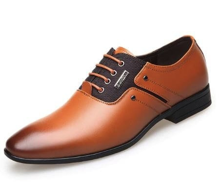 Sapato Social Masculino Oxford Marrom Claro Frete Grátis