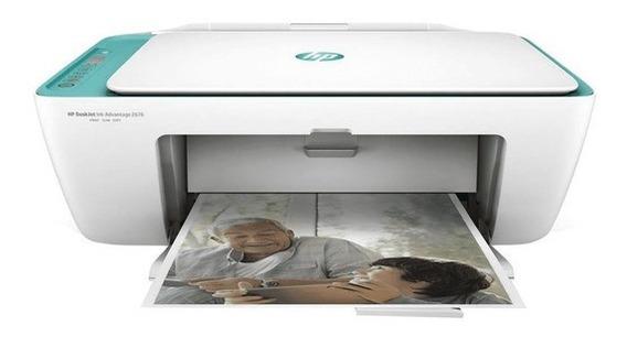 Impressora Multifuncional Hp 2676 Wifi Scanner E Copiadora