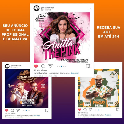 Post Para Redes Sociais - Instagram   Facebook Etc.