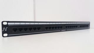 Patch Panel 24 Portas Cat5e Essencial-5 Utp T568