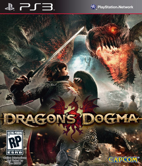 Jogo Dragons Dogma Playstation 3 Ps3 Mídia Física Original