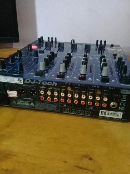 Mixer Ddm 3000 Dj Tech (novo)