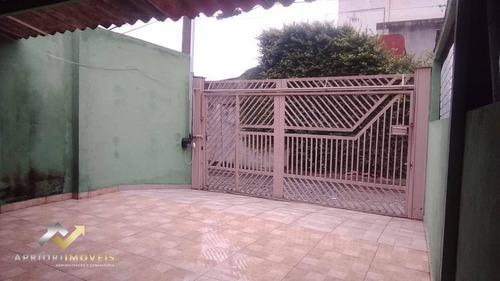Terreno À Venda, 250 M² Por R$ 500.000,00 - Parque João Ramalho - Santo André/sp - Te0077