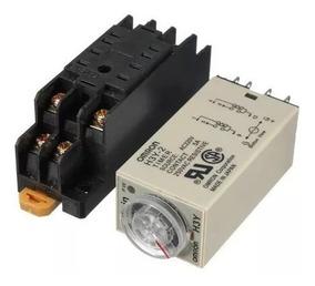Relé Retardo Temporizador H3y-2 Energia Solar 0-60seg. 110v