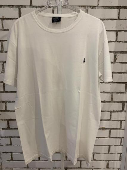 Camiseta Polo Ralph Lauren Masculino Branca
