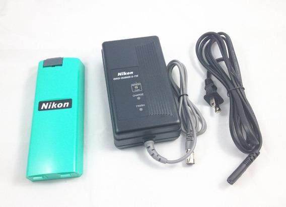 Kit Carregador + Bateria Nikon Bc 65 Estação Npl E Dtm Bc65
