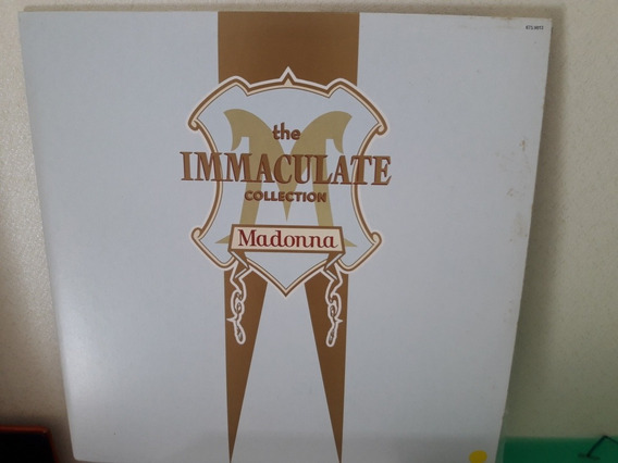 Lp The Immaculate Collection Madonna