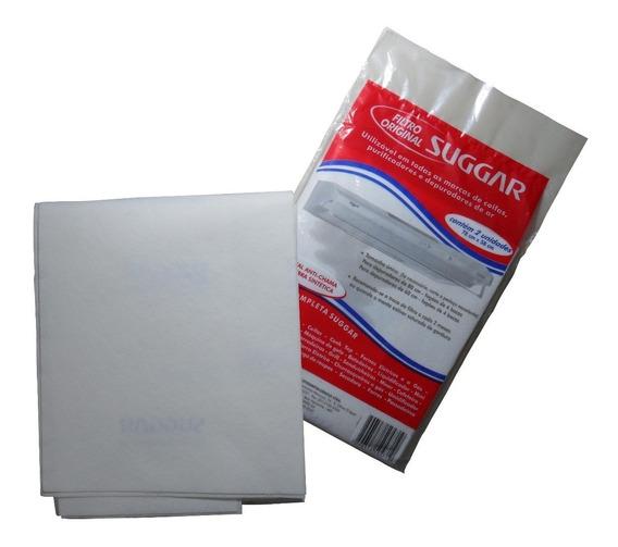 Kit 3 Feltro Exaustor Coifas Purificador Depurador Universal