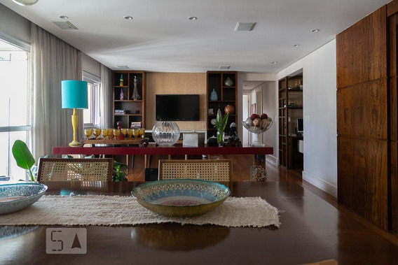 Apartamento No 20º Andar Mobiliado Com 3 Dormitórios E 3 Garagens - Id: 892961236 - 261236
