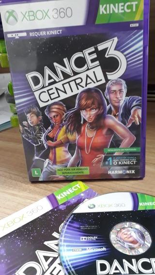 Dance Central 3 Xbox 360 Mídia Física Seminovo Pt Br