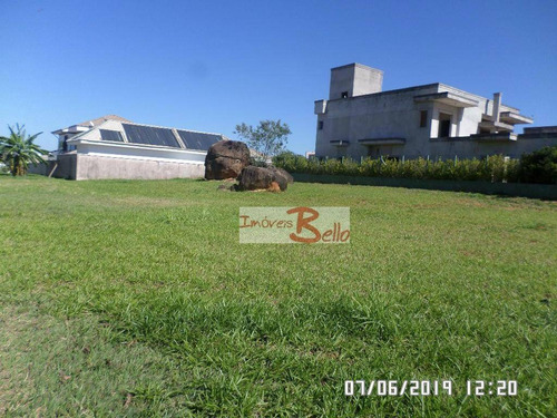 Imagem 1 de 13 de Terreno À Venda, 1000 M² Por R$ 750.000,00 - Condomínio Villagio Paradiso - Itatiba/sp - Te0650