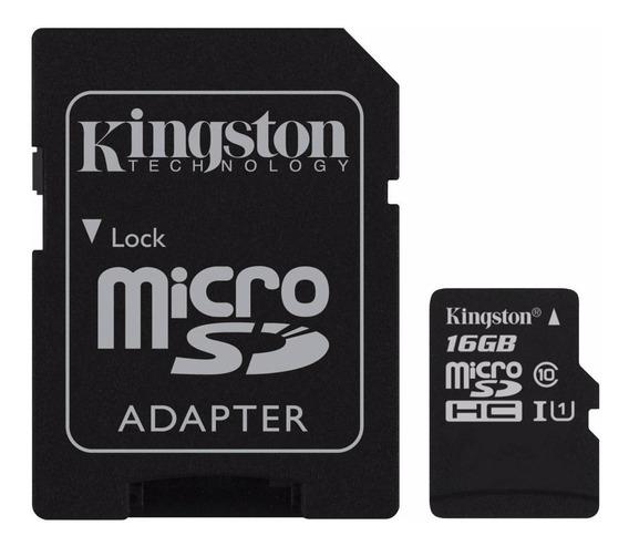Tarjeta de memoria Kingston SDC10G2 16GB