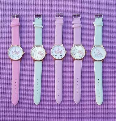 Reloj Camaleon Hello Kitty & Unicornio.