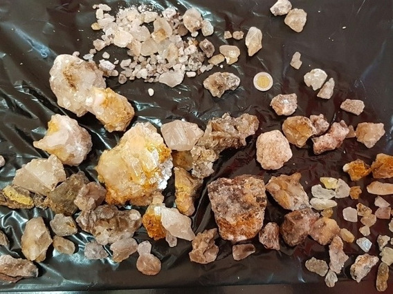 Cristales De Calcita Diente De Perro, Cuarzo, Gemas, Por Kgs