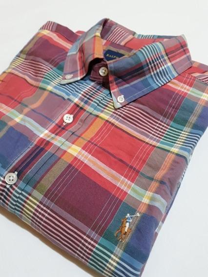 Camisa Polo Ralph Lauren Oxford Original For Men Talle L