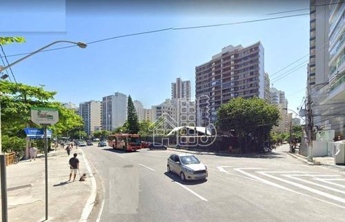 Apartamento Com 3 Dormitórios À Venda, 94 M² Por R$ 490.000,00 - Icaraí - Niterói/rj - Ap3550