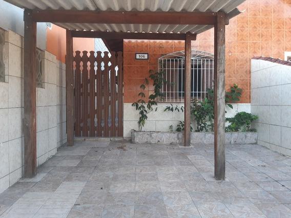 Casa No Itaóca Em Mongaguá!!