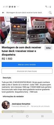 Vendo Montagem De Som Tudo Original Tudo Ok