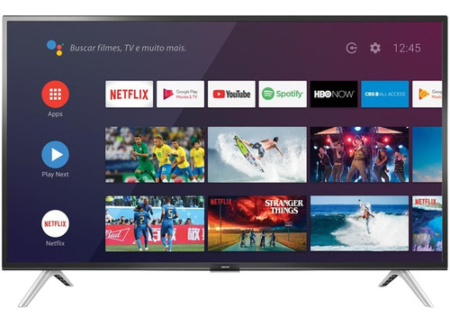 Smart Tv Android Led 32  Semp 32s5300 Bluetooth 2 Hdmi 1 Usb