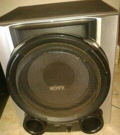 Subwoofer Amplificado Bajo Cornetas Sony