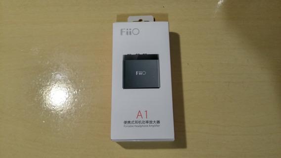 Fiio A1 Amplificador De Áudio Portátil Para Fones De Ouvido