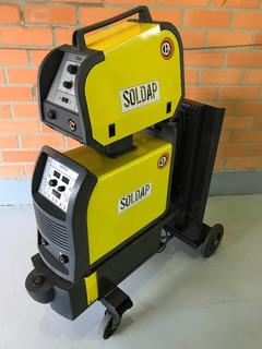 Máquina De Solda Mig Cea - Digitech 400 Pulsada Inversor
