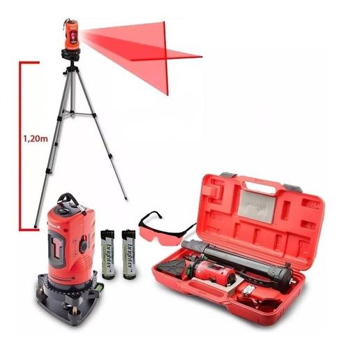 Imagem 1 de 5 de Nível Laser 150 Mm C/ Tripe Autonivelameto Em Cx Plast. Mtx