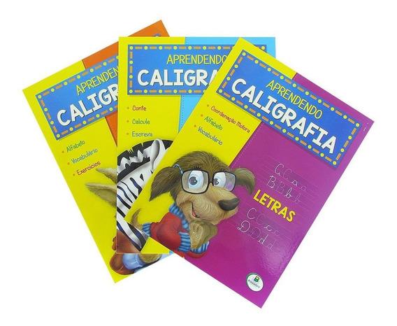 Aprendendo Caligrafia 3 Volumes