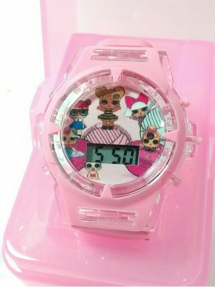 Relógio Infantil Da Boneca Lol Barato Promoção Oferta
