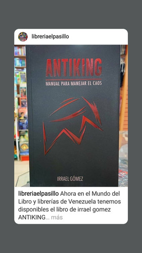 Antiking: Manual Para Manejar El Caos