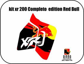 Kit De Adesivo Gráfico Xr200 Película Ant-aranhão Completo