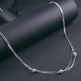 01eea27a4668 Collar De Perlas De 3 Hilos en Mercado Libre México