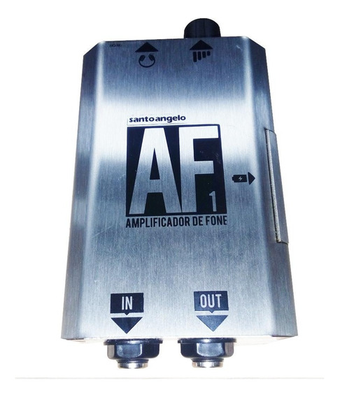 Amplificador Santo Ângelo Mod Af1 Para Fone De Ouvido