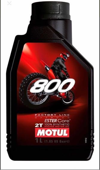 Óleo Motul 800 Offroad 3l (3 Litros) Sintético