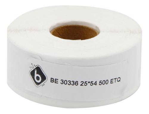 Etiquetas Compatibles Dymo 450   4 Rollos 25x54mm