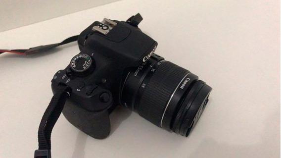 Câmera T5 18mp + Tripé + Iluminação