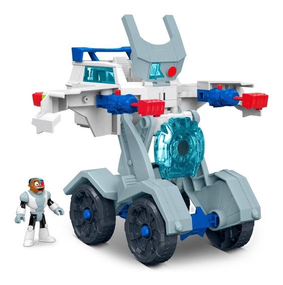 Imaginext Teen Titans Go! Vehículo Transformable